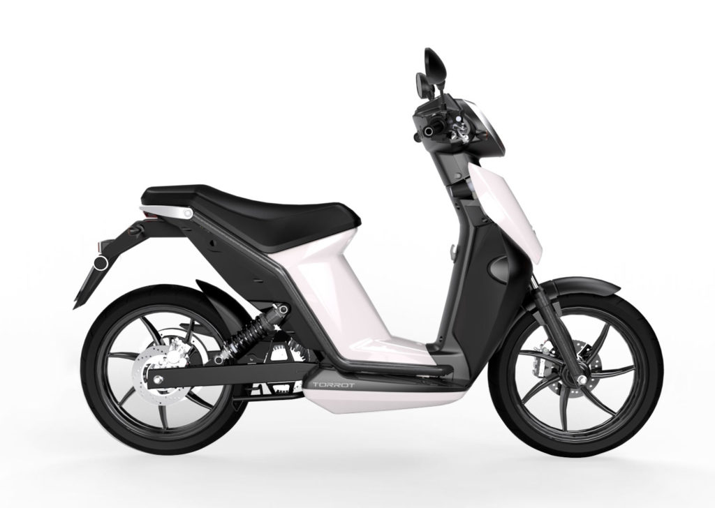 Moto Eléctrica Scooter Torrot Muvi City